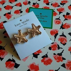 New! Kate Spade🍋Lemon Tart Starfish Earrings!